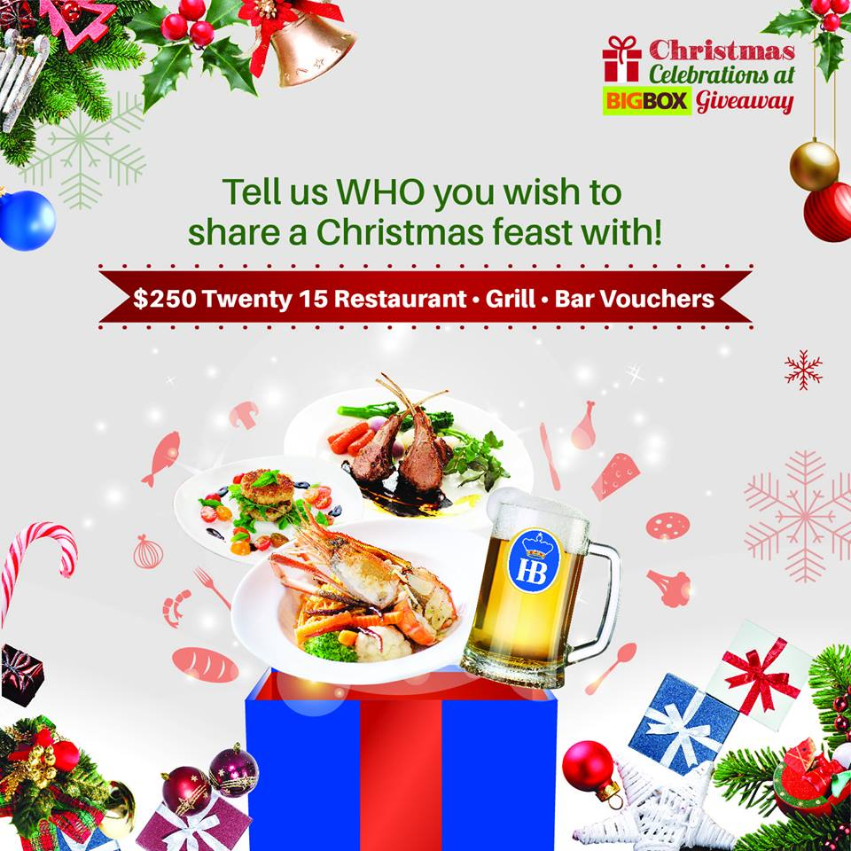 Eat, drink and be merry this festive season at Twenty15 Restaurant Grill Bar