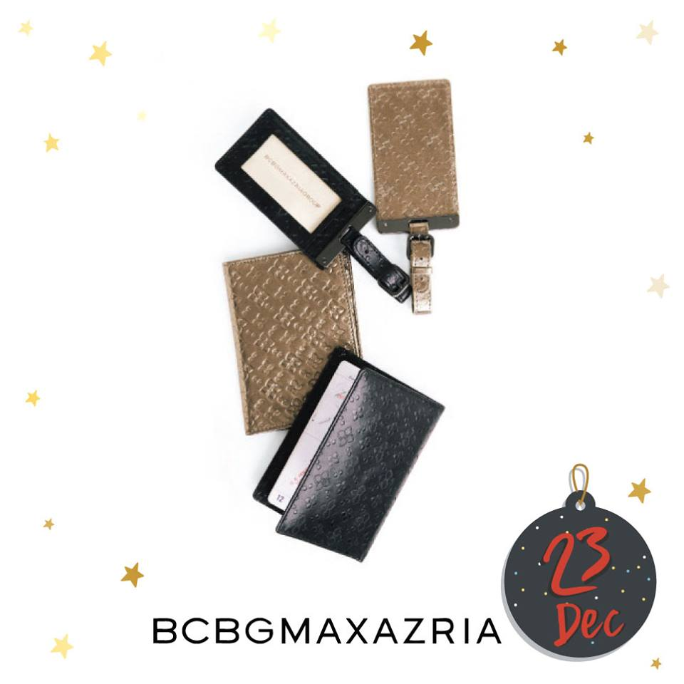 #F312daysofxmas DAY 10 – Win BCBGMAXAZRIA Passport Holder