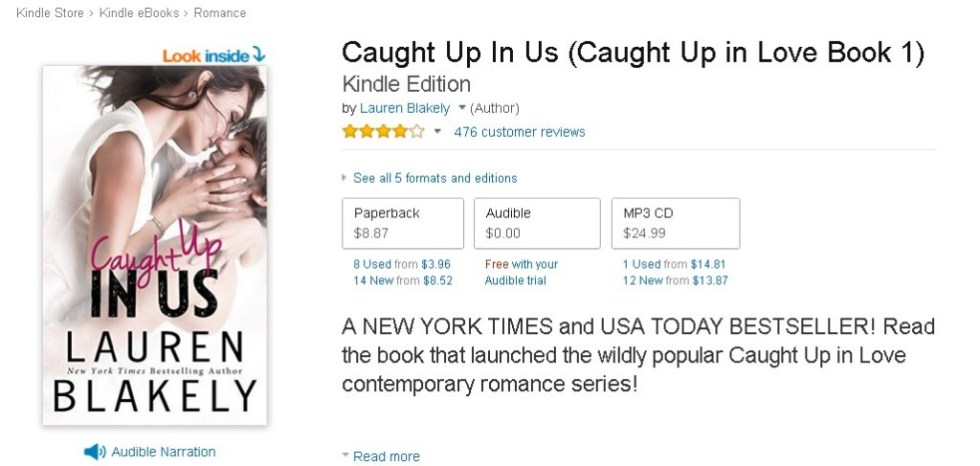FREE Caught Up In Us (Caught Up in Love Book 1) Kindle Edition