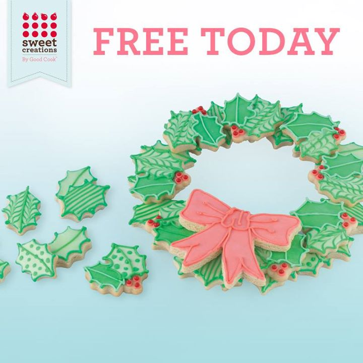 FREE Sweet Creations By Good Cook Holiday Wreath Cutters up for grabs