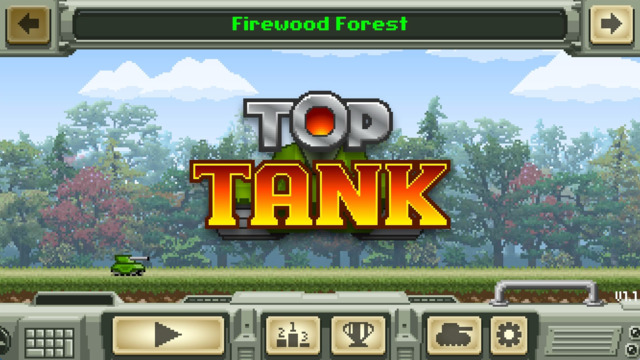 Free iOS Game Top Tank By Fun Fetched