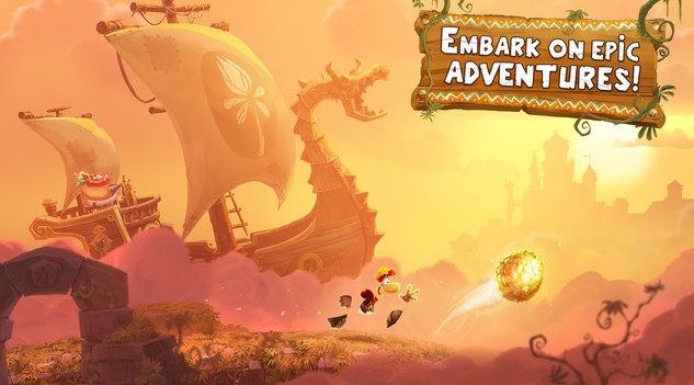 Free iOS GameRayman Adventures By Ubisoft
