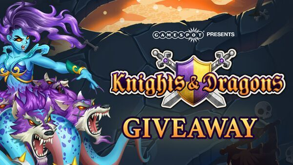 GameSpot Knights & Dragons Swag Bag Giveaway