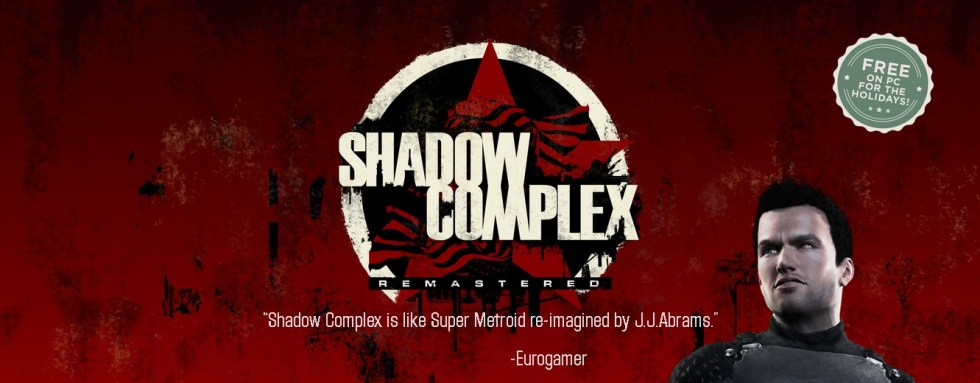 Get Shadow Complex Remastered FREE on PC for a limited time via Epic Games