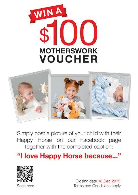 Happy Horse Photo Contest at Motherswork Baby & Kids