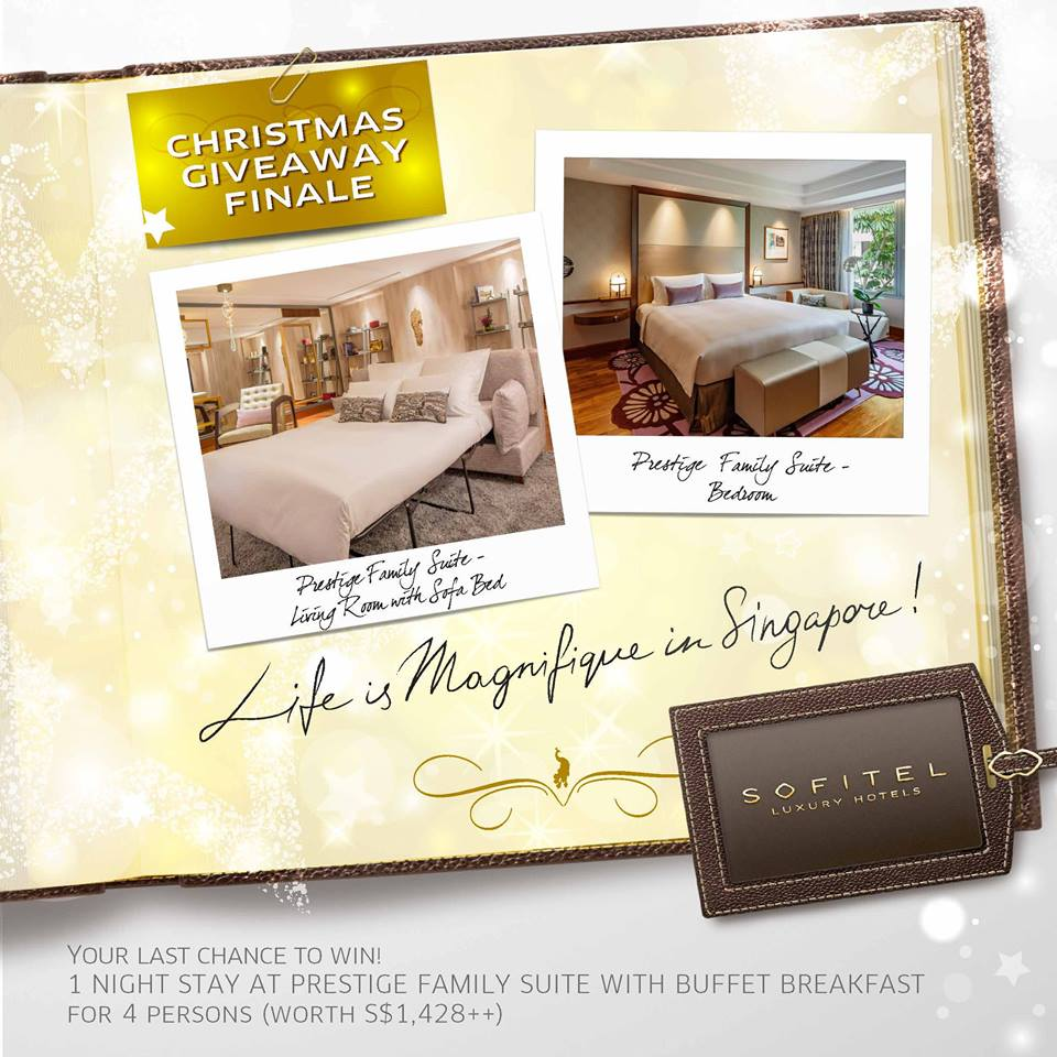 [LIKE, SHARE, TAG & WIN] - 8 Weeks of Magnifique Christmas with Sofitel Singapore Sentosa Resort & Spa