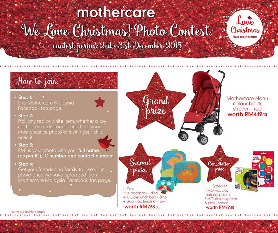 Mothercare We Love Christmas! Photo Contest