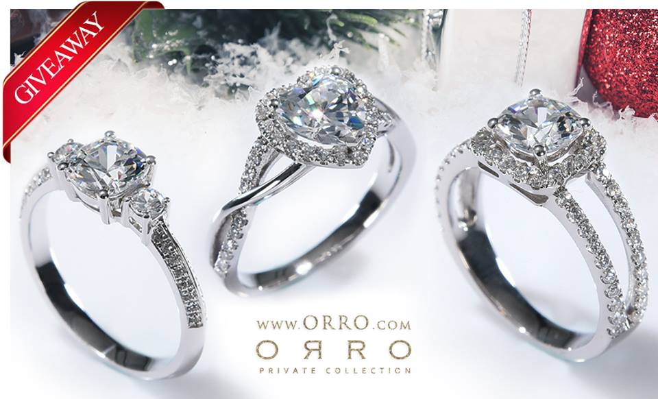ORRO Giveaway 3 exclusive rings from all NEW rings collection