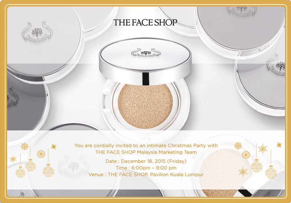 Register to get an exclusive goodies bag at THEFACESHOP Malaysia