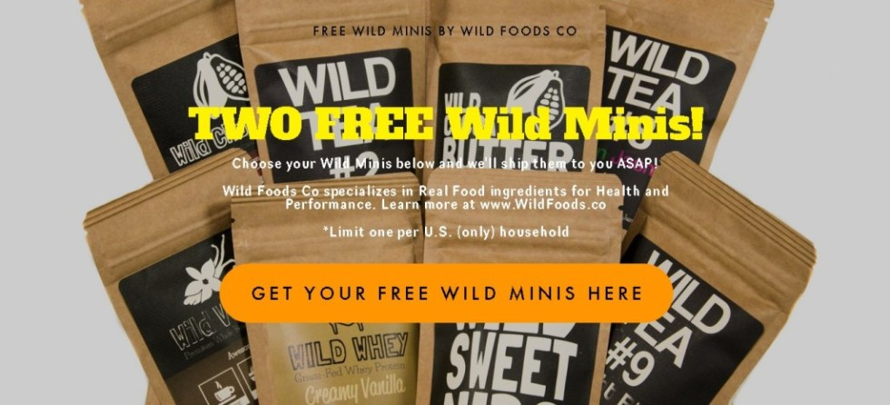 TWO FREE Wild Minis by Wild Foods Co