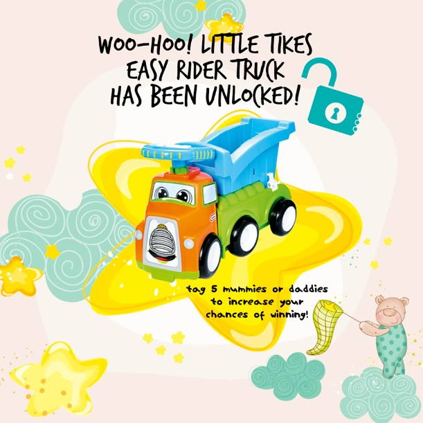 WIN Little Tikes Easy Rider Truck at Motherhood Magazine