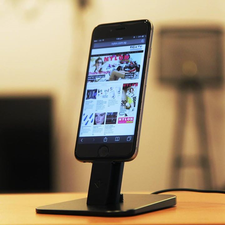 WIN Twelve South HiRise Deluxe Charging Dock for iPhone 6 at Nylon Singapore