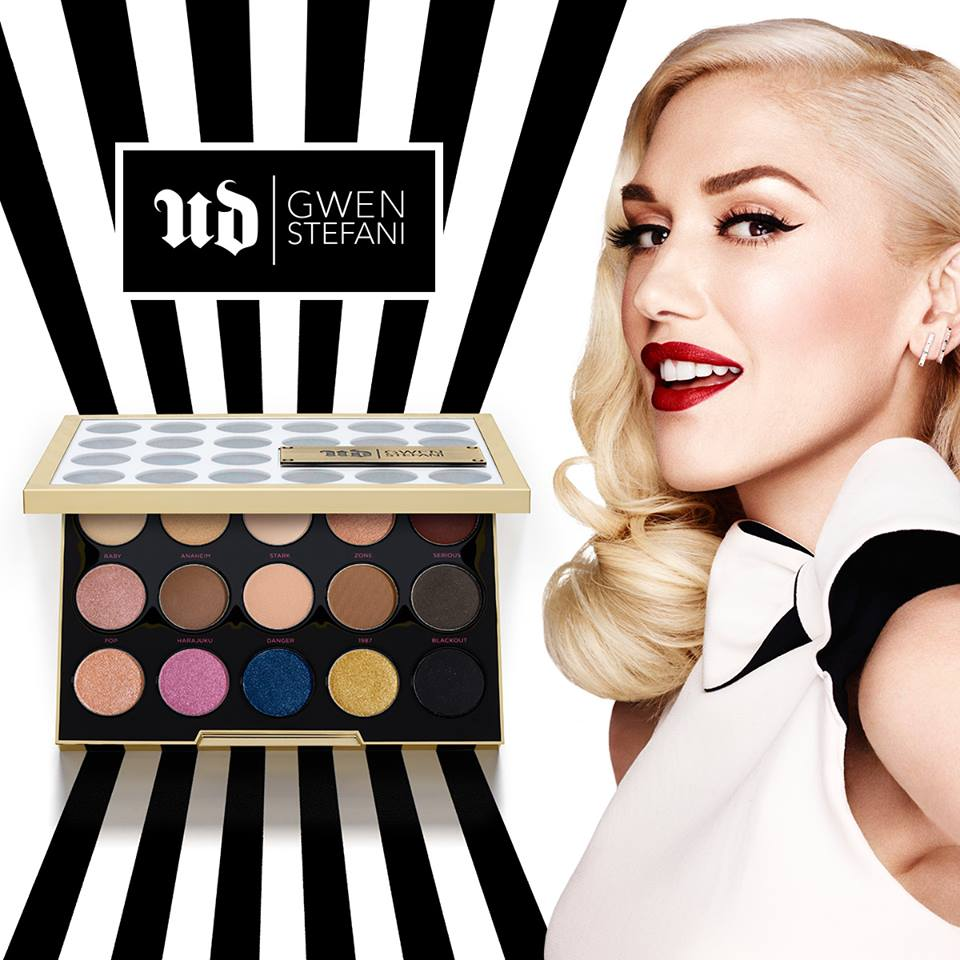 WIN #UDxGwen Eyeshadow Palette at Urban Decay Cosmetics