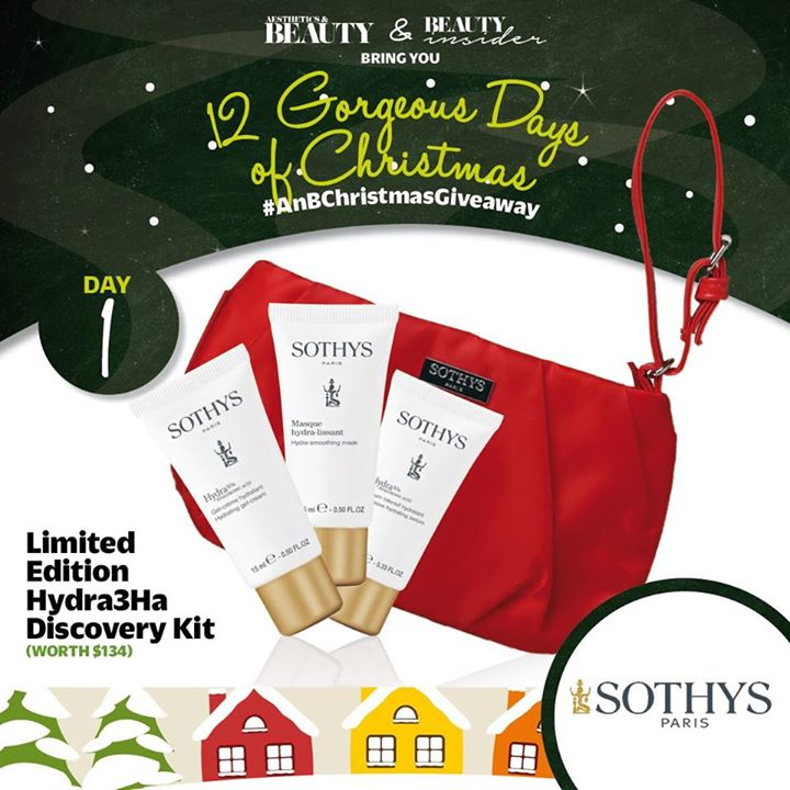 WIN a set of Sothys' Limited Edition Hydra3Ha Discovery Kit at Aesthetics & Beauty