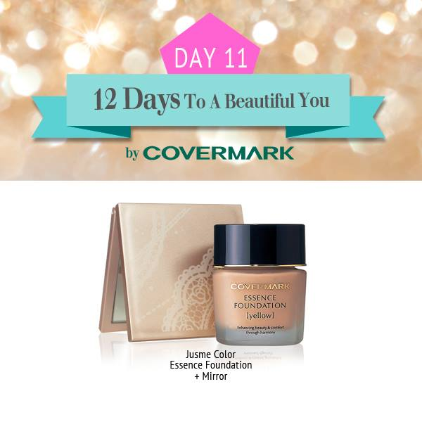 Win Jusme Color Essence Foundation at Covermark Singapore