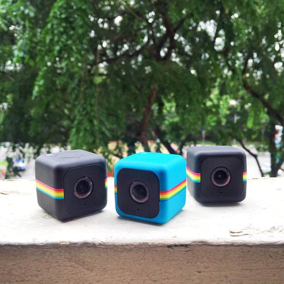 Win Polaroid CUBE+ cameras, courtesy of Cathay Photo at Nylon Singapore