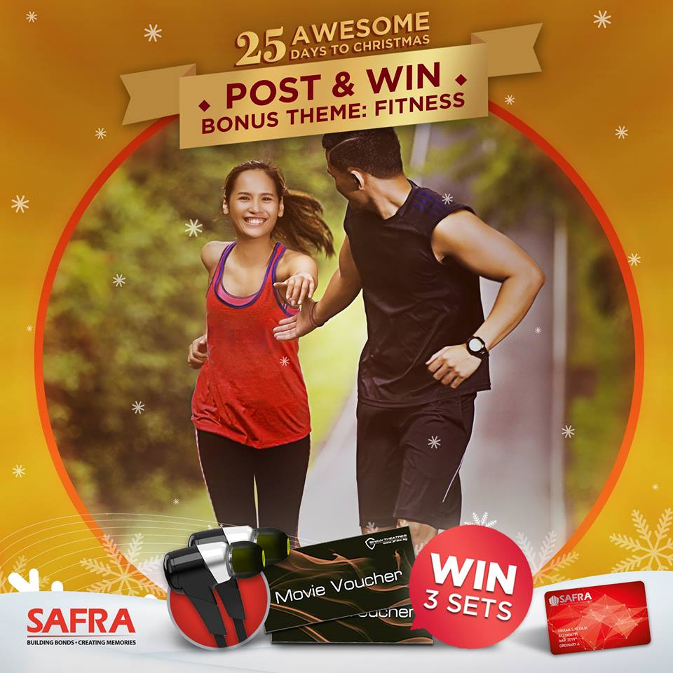 Win a pair of Jaybird Bluebuds and 5 pairs of Shaw Movie vouchers at SAFRA