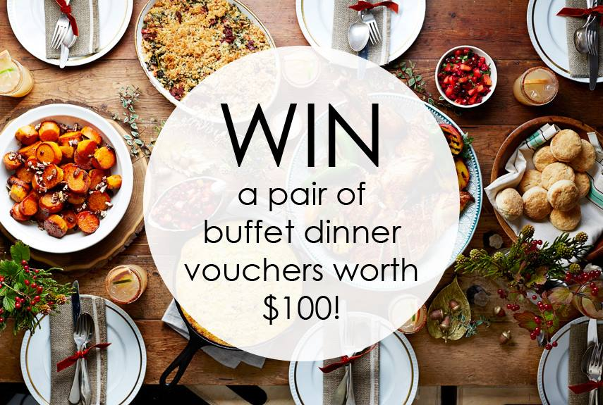 Win a pair of buffet dinner vouchers worth up to $100 at Claymore Connect Shopping Mall