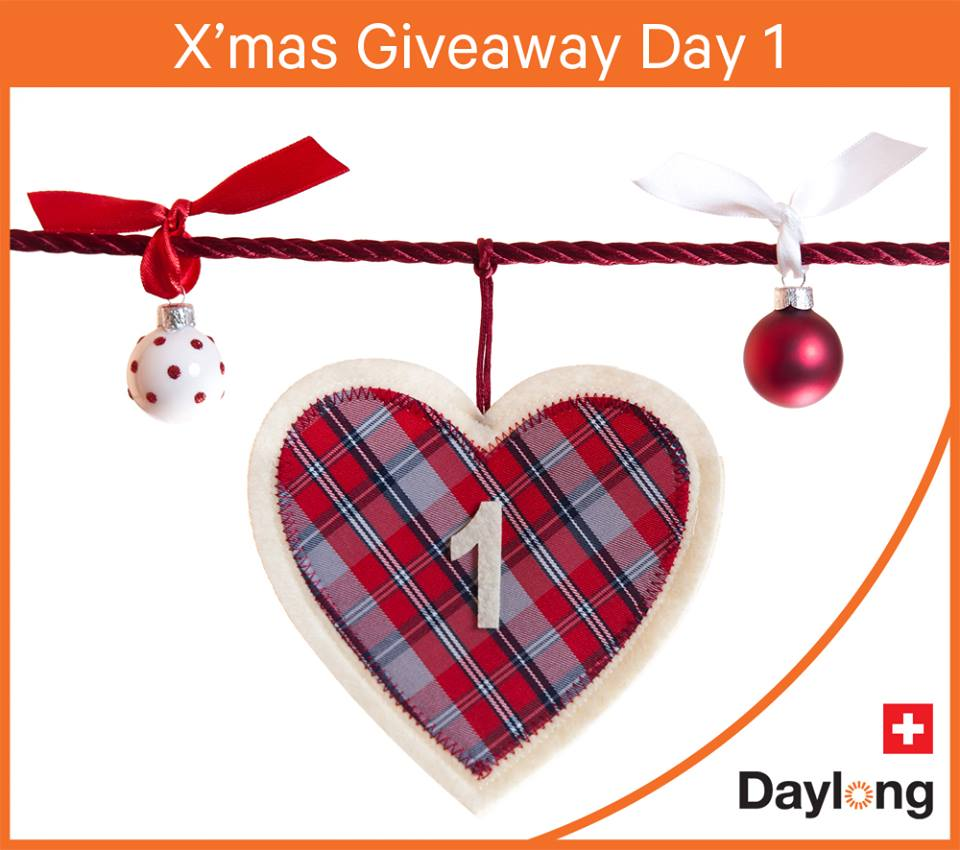 X'mas Giveaways at Daylong Singapore