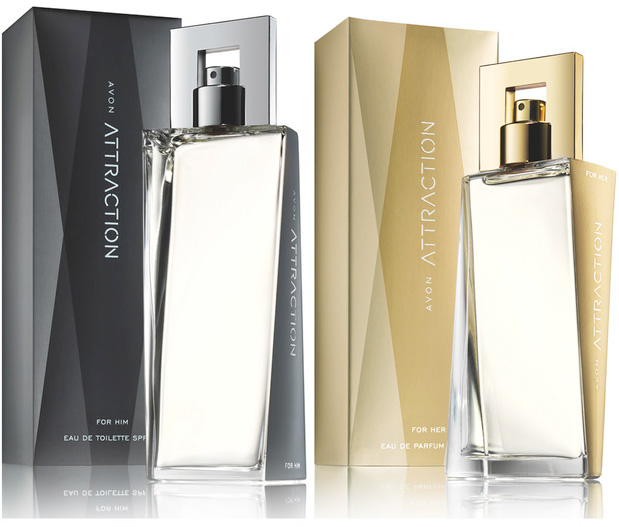 FREE sample of Avon Attraction for Him & Her