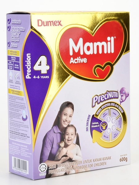 Free Mamil® Active Step 4 (4-6 years) Starter Kit