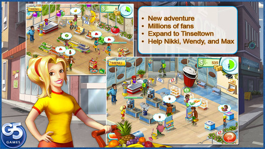 Free iOS Game Supermarket Mania® 2 (Full) By G5 Entertainment