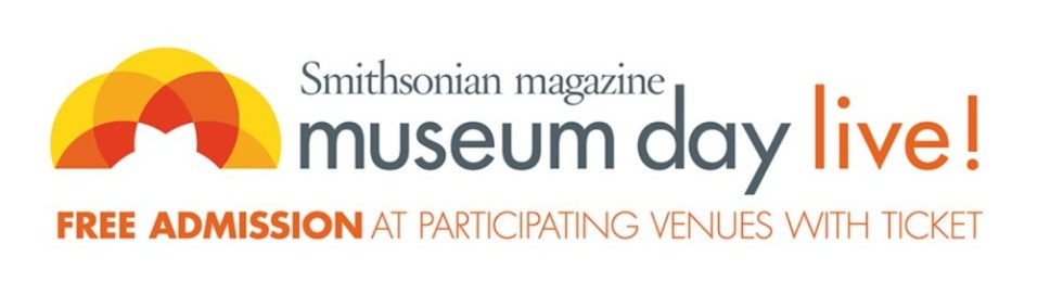 Free tickets to the Smithsonian Institution's Museum Day Live on 12th March 2016