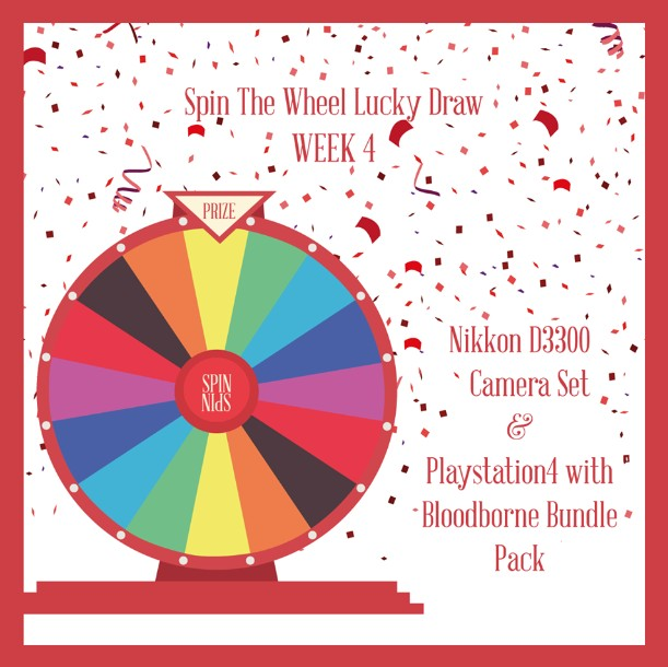 HOME TEAM NS SPIN THE WHEEL GIVEAWAY WEEK 4 Are you a gamer pro