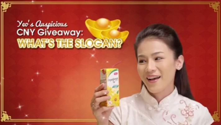 Win 2 cartons of Yeo's beverage + $20 supermarket vouchers for the prosperous season