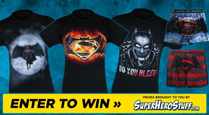 Win $200 worth of merchandise of their choice from SuperHeroStuff