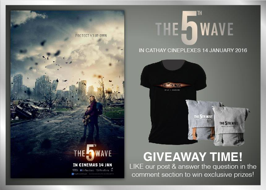 Win The 5th Wave Movie Premiums at Cathay Cineplexes Sdn Bhd