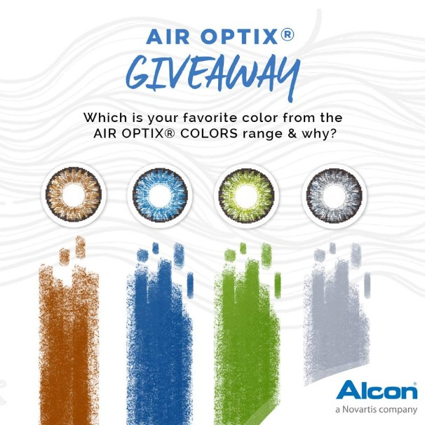 AIR OPTIX® GIVEAWAY