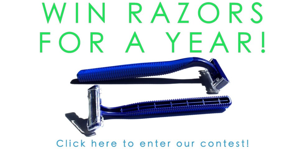 Enter to win a year worth of free Razors at Big Box of Razors