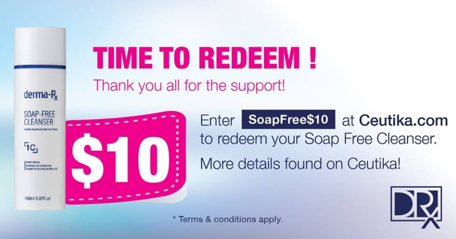 FREE Soap Free Cleanser at The DRx Medispa Singapore