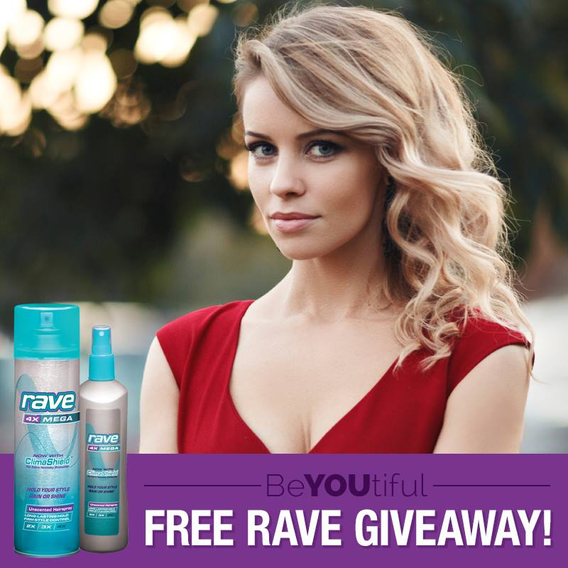 Free Happy Valentine's Day RAVE Giveaway
