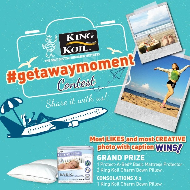 #Getaway Contest at King Koil Malaysia - Official