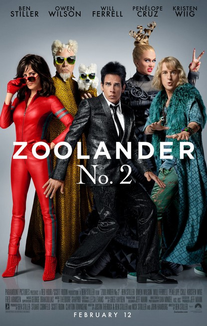 Men's Health Singapore GIVEAWAY 5 pairs of preview tickets to ZOOLANDER 2 #giftout