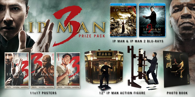 SR Giveaway Win An IP MAN 3 Prize Pack!