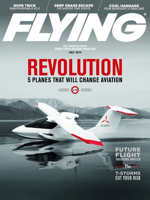 Sign up here for a complimentary one year subscription to Flying Magazine