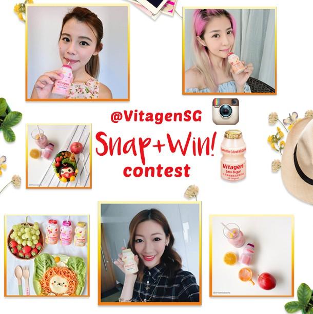 Snap + Win! $100 worth of CapitaVoucher at VITAGEN Singapore