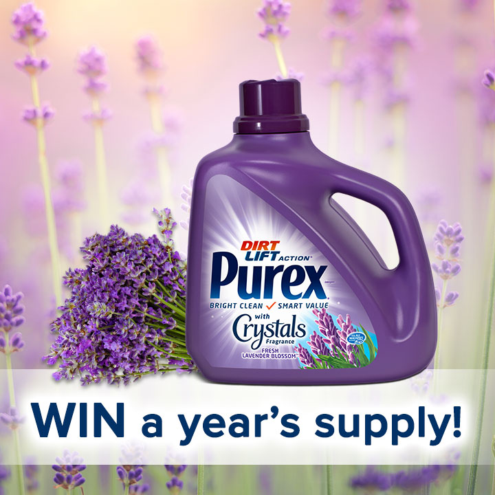 WIN Purex Fresh Lavender Blossom & Stay Relaxed All Year