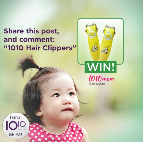 WIN Vijan Hair Clippers at 10 10 Mother & Child Singapore