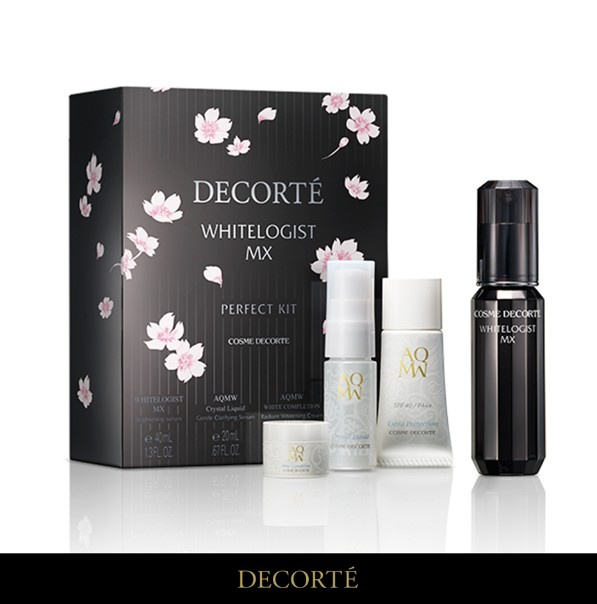 WIN this LIMITED EDITION DECORTÉ Whitelogist MX Perfect White Kit