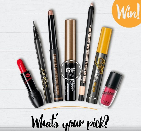 Win your favourite CLIO product at CLIO Singapore