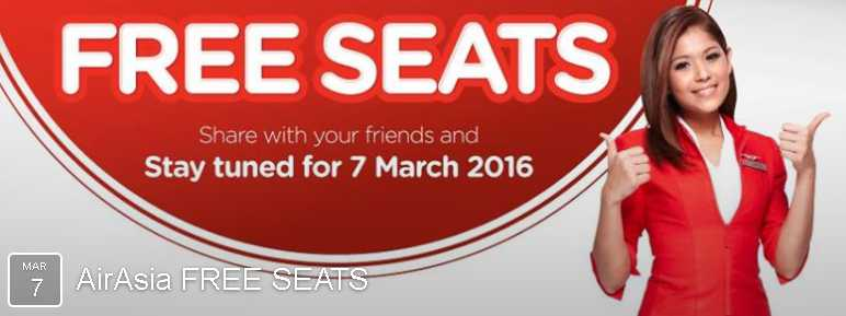AirAsia's FREE SEATS are back!