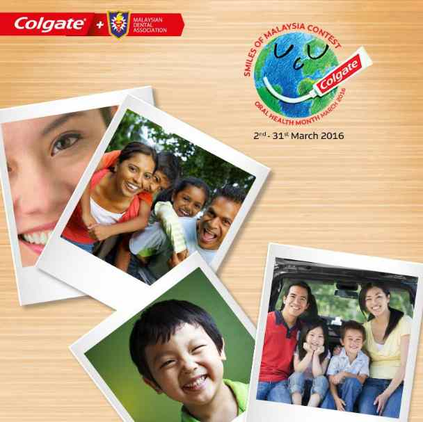 Colgate Smiles of Malaysia Contest