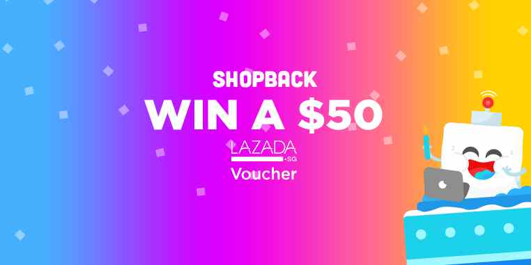 Enter the ShopBack sweepstakes to win $50 Lazada Voucher