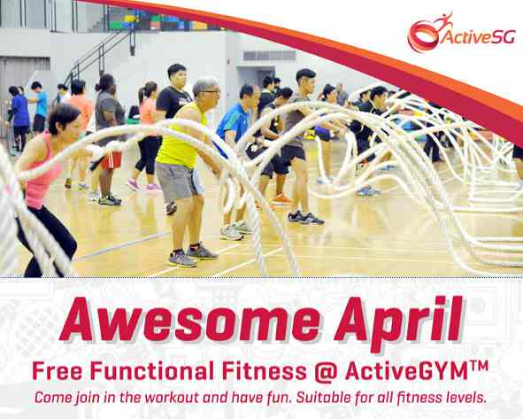 Free Functional Fitness @ ActiveGYM by ActiveSG