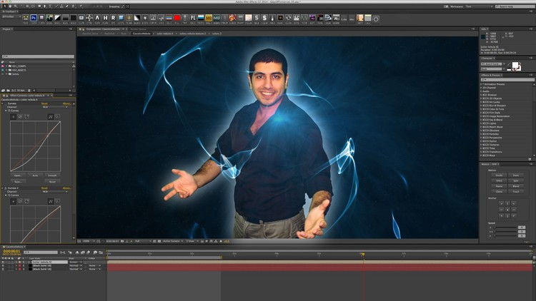 Free Udemy Course on Learning Adobe After Effects cc in egyptian arabic