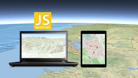 Free Udemy Course on Start Web Development with GIS Map in JavaScript